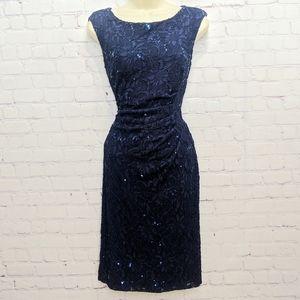 Lauren RL Stunning Lace & Sequined Dress